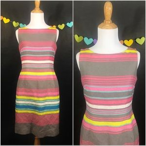 Tahari by ASL Sleeveless Striped size 2